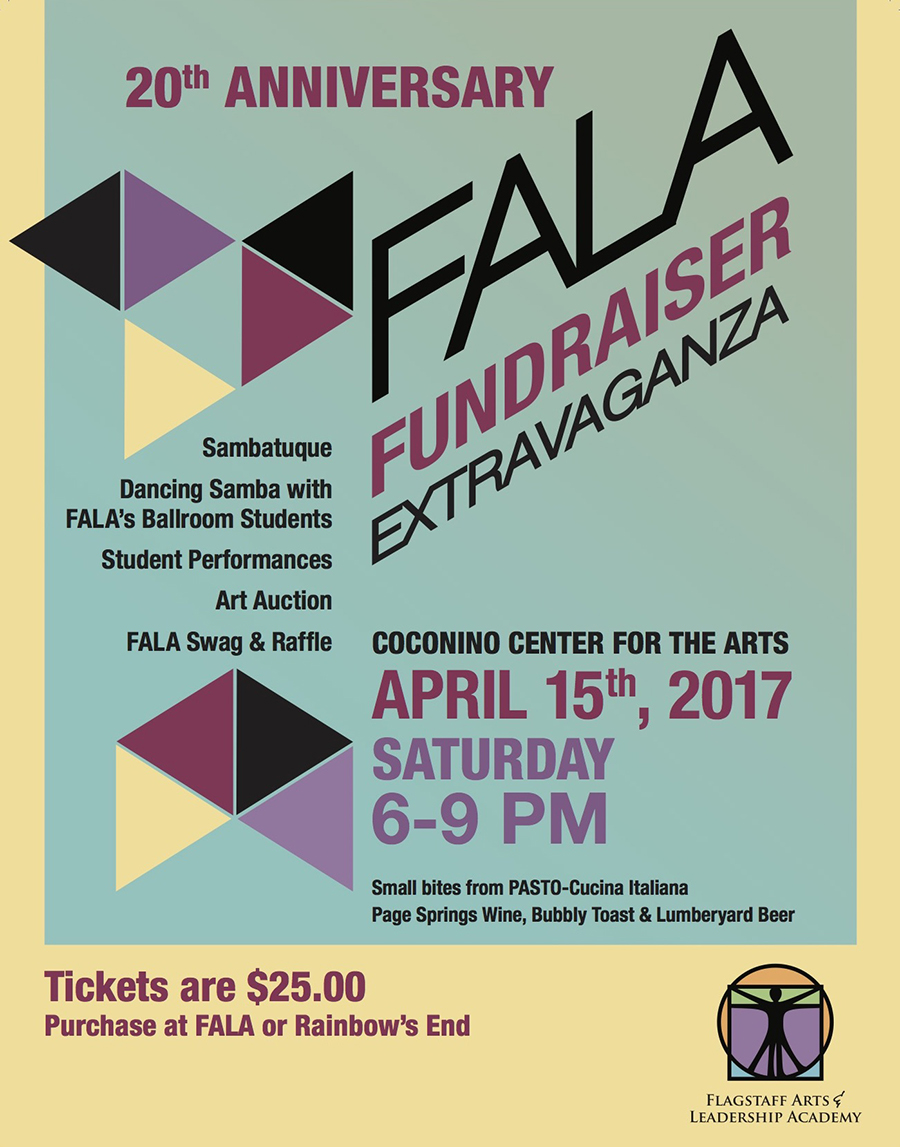 FALA 20th Anniversary Extravaganza @ Coconino Center for the Arts