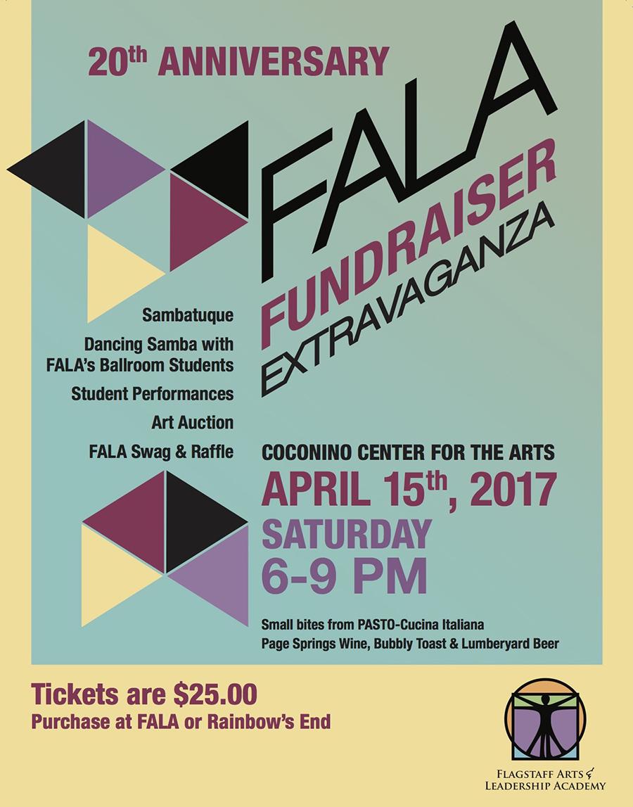 FALA 20th Anniversary Extravaganza @ Coconino Center for the Arts
