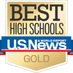 U.S. News & World Report Best High Schools Gold Medal image