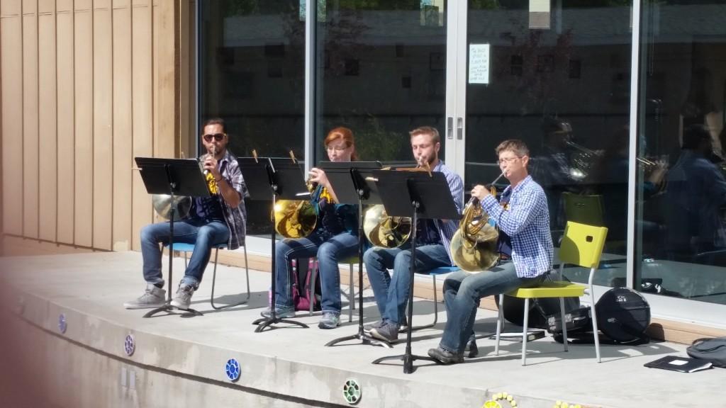 NAU honors quartet