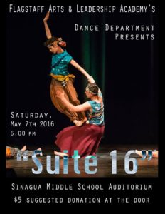 Spring Dance Performance @ Sinagua Middle School auditorium