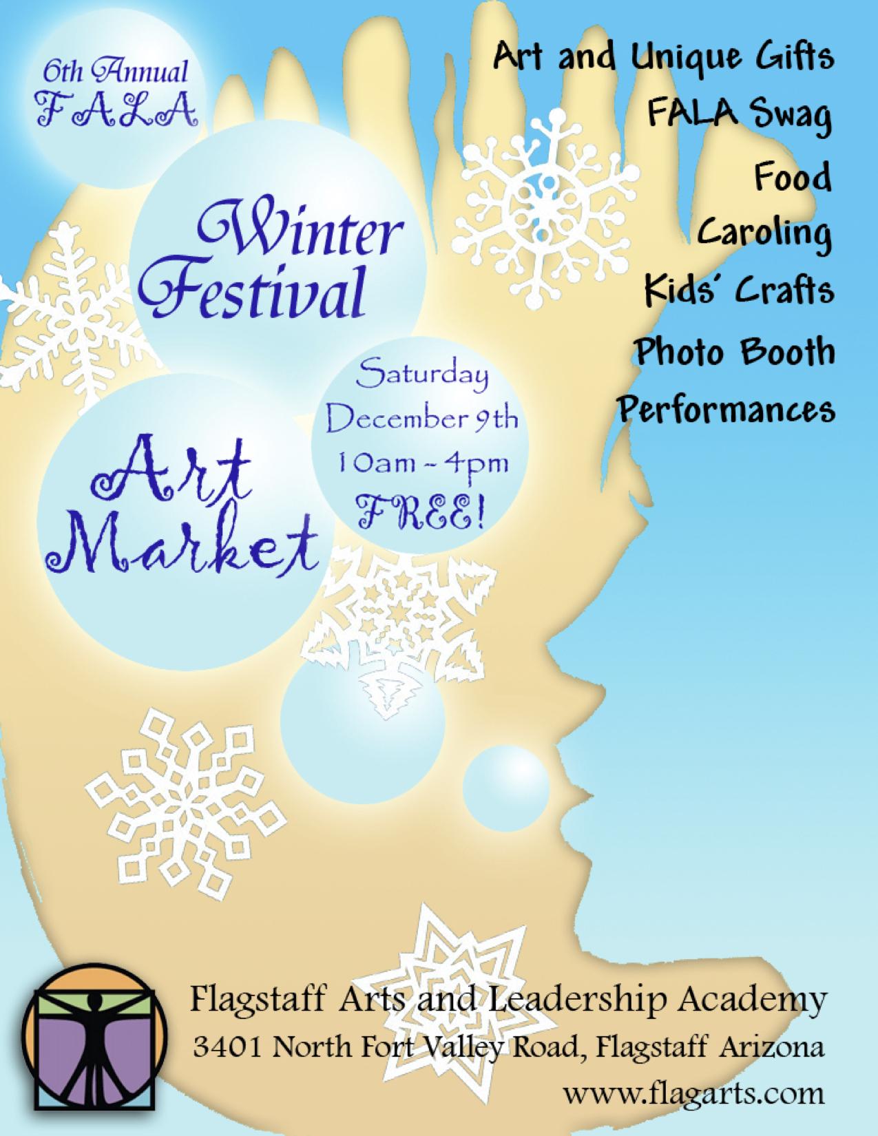 6th Annual Winter Festival Art Market