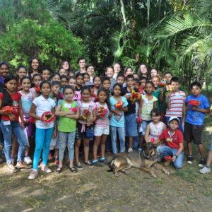 FALA Students Working With EL Sauce, Nicaragua Community