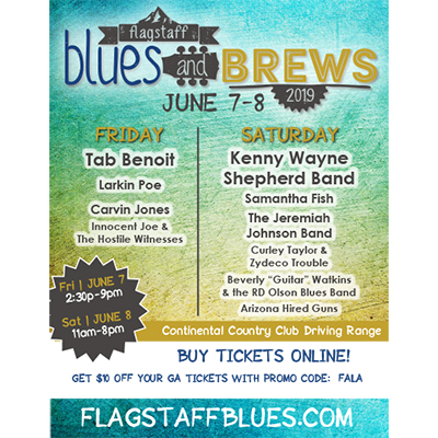 7th Annual Flagstaff Blues And Brews Festival June 7-8th