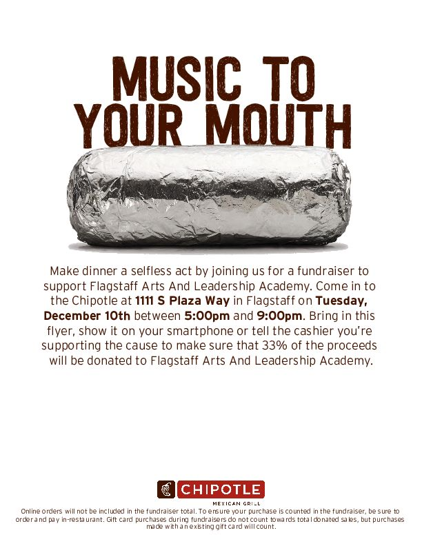 FALA Fundraiser at Chipotle @ Chipotle