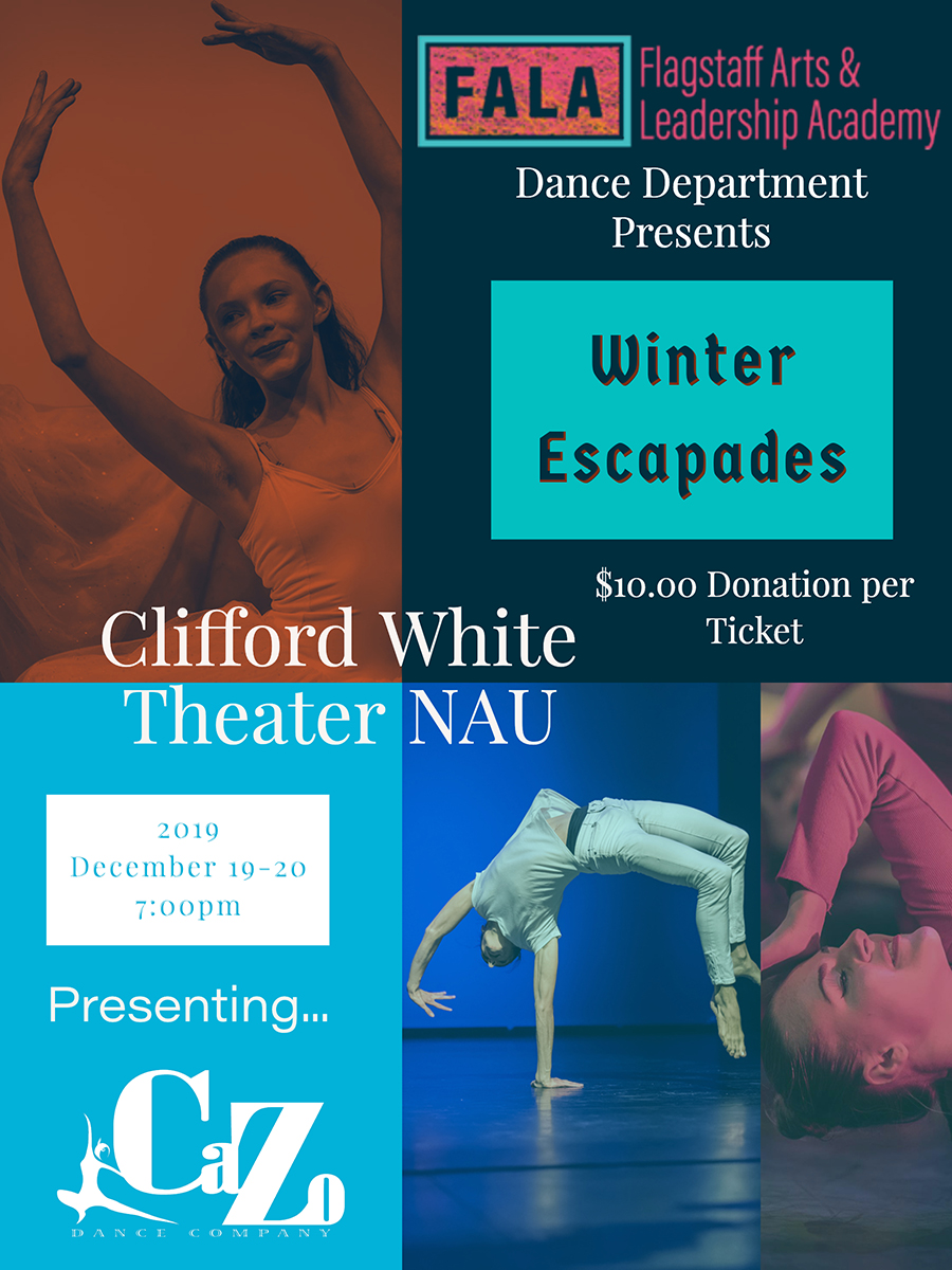 The FALA Dance Department Presents: Winter Escapades @ Clifford White Theatre - NAU