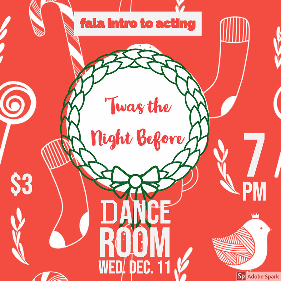 FALA intro to acting - 'Twas the Night Before @ FALA Dance Room