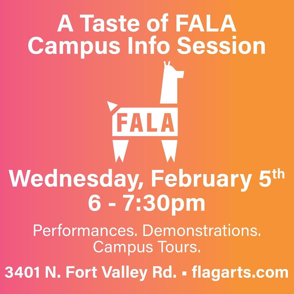 Taste of FALA Campus Info Sessions