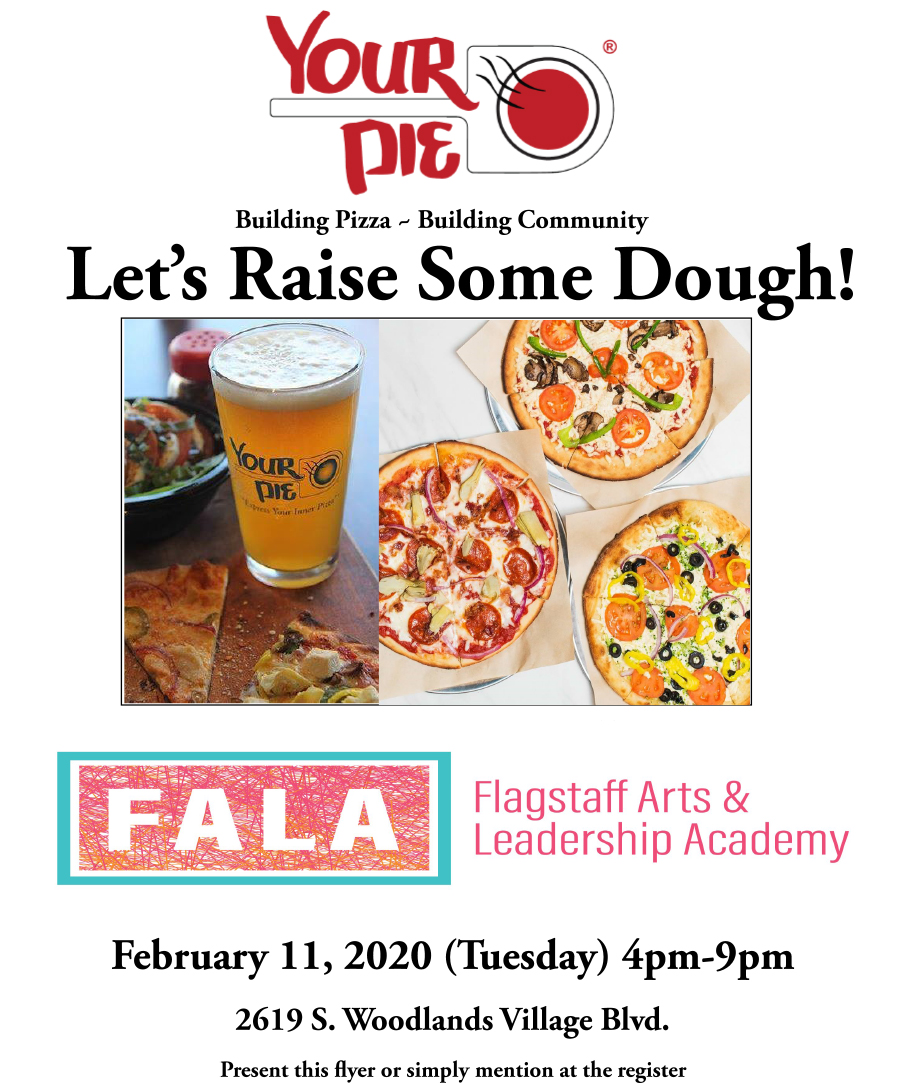 FALA - Community Benefit Night at Your Pie @ Your Pie