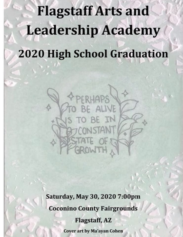 2020 FALA Seniors Graduation Ceremony Information