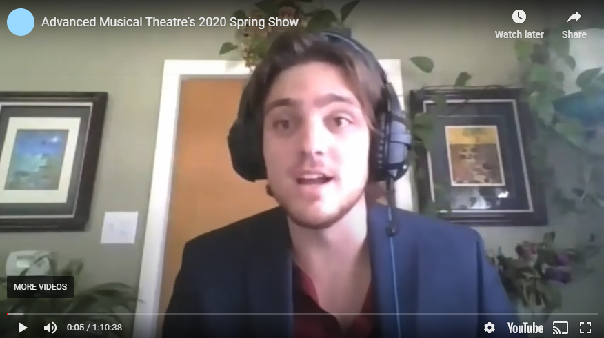 Advanced Musical Theatre's 2020 Spring Show
