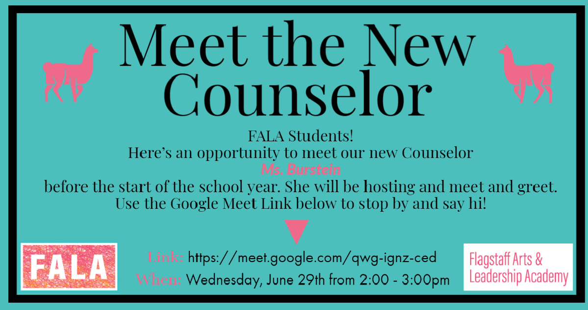 Meet The New Counselor July 2020