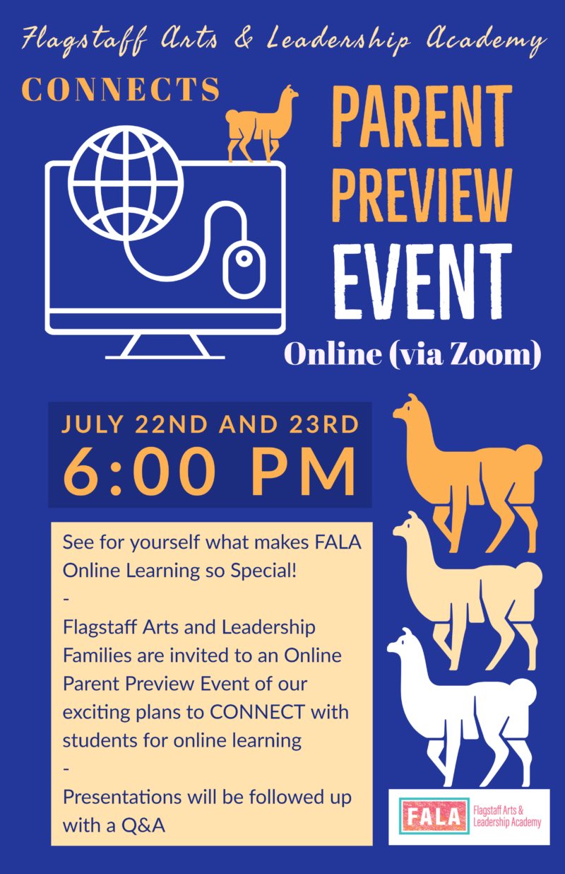 Parent Preview Night - This Week - Sign Up Required