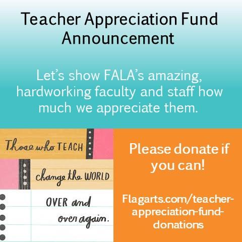 FALA Teacher Appreciation
