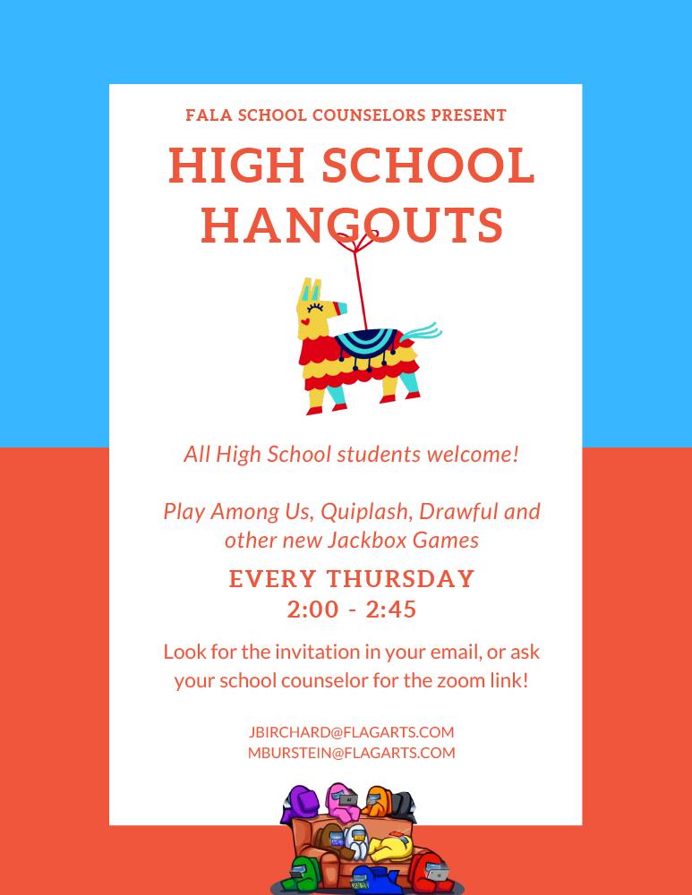 HS Hangout Flyer