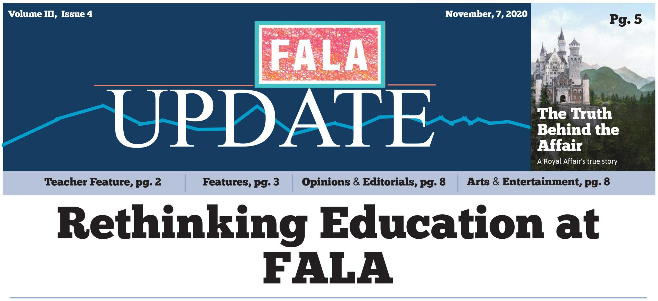 Fala Update 11-7-20
