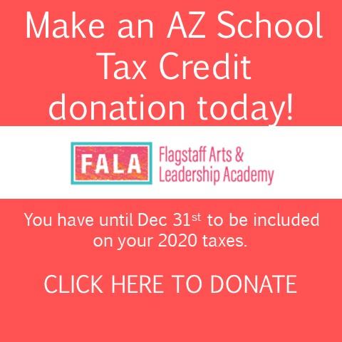 FALA 2020 Tax Credit Donation Web Page